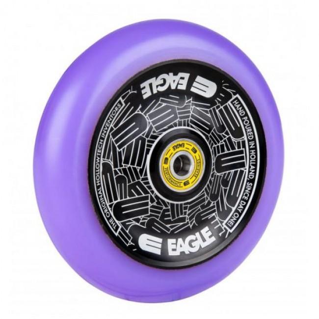 Eagle Radix Full Hollowtech Scooter Wheel Black/Purple Med 115mm