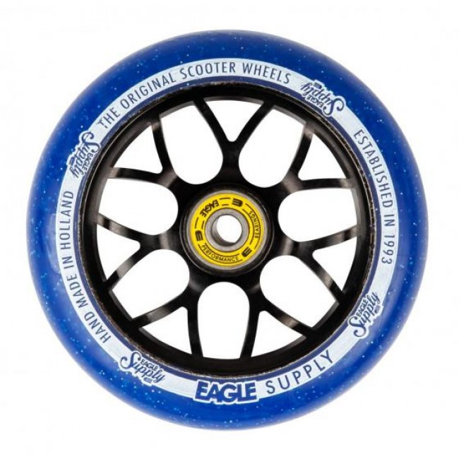 Eagle Standard X6 Core Candy Wheel Black/Blue 110mm