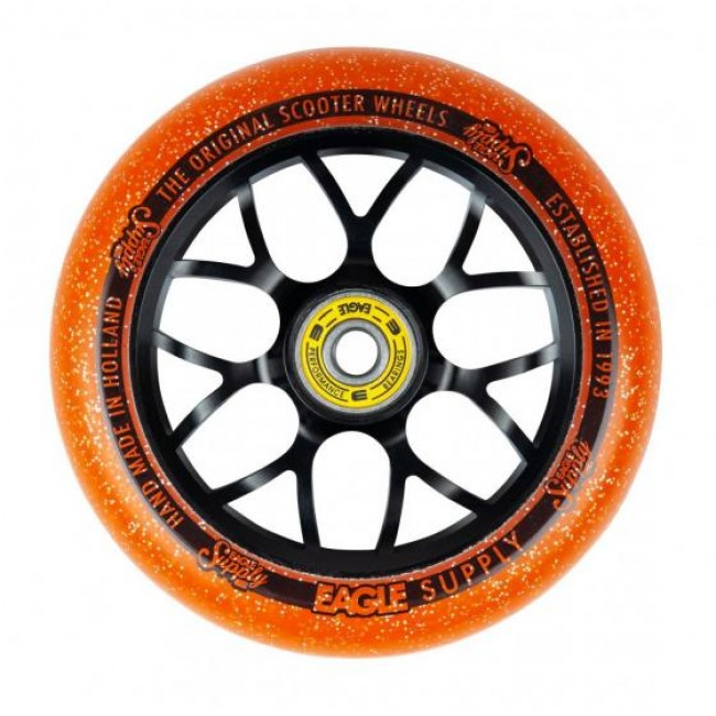 Eagle Standard X6 Core Candy Wheel Black/Orange 110mm