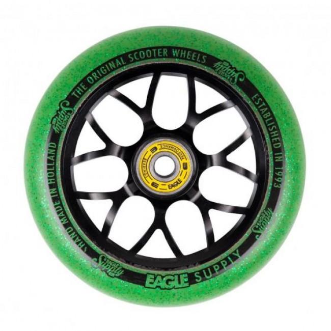 Eagle Standard X6 Core Candy Wheel Black/Green 110mm