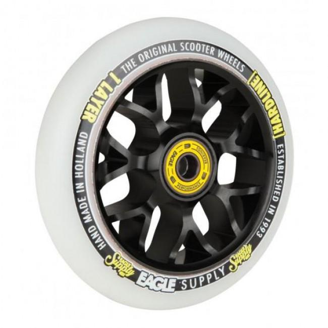 Eagle Hardline 1L X6 Snowballs Scooter Wheel Black/White 110mm