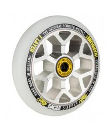 Eagle Hardline 1L 6M Snowballs Scooter Wheel Silver/White110mm