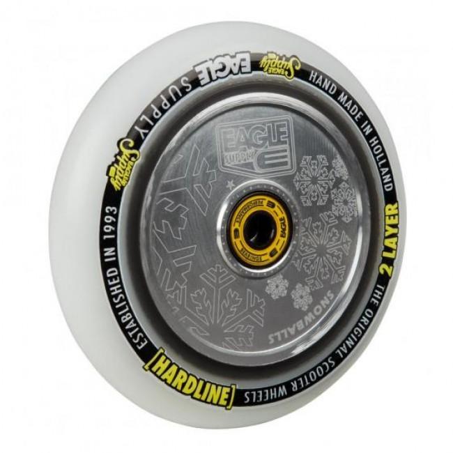 Eagle Hard Line 2L Hollowtech Snowballs Silver/White 115mm