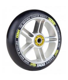 Eagle Radix 5D 1/L Scooter Wheel Silver/Black