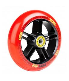 Eagle Radix 5D 1/L Scooter Wheel Black/Red