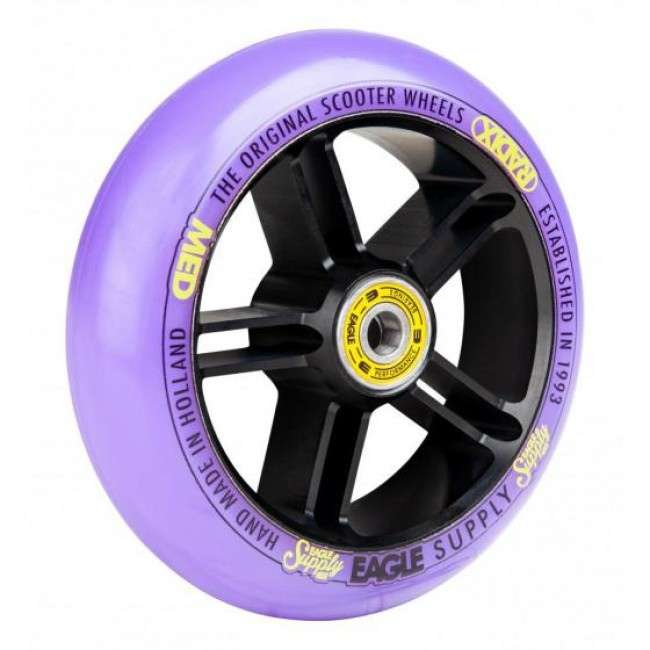 Eagle Radix 5D 1/L Scooter Wheel Black/Purple