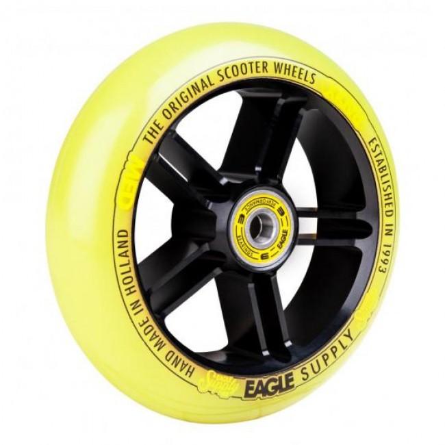 Eagle Radix 5D 1/L Scooter Wheel Black/Yellow