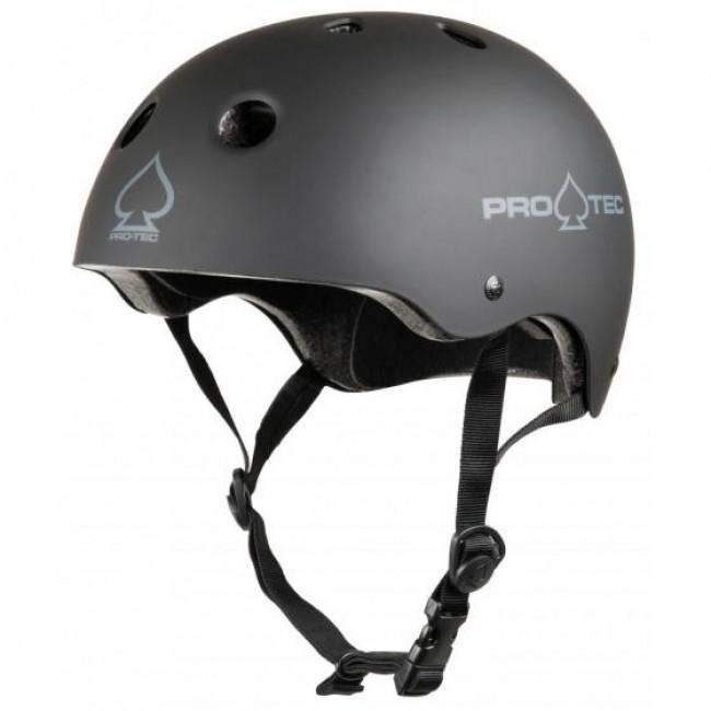 Protec Classic Certified Helmet Matt Black