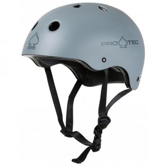 Protec Classic Certified Helmet Matt Grey