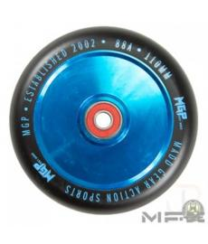 MGP MFX Corrupt Scooter Wheels 110mm Blue/Black PAIR