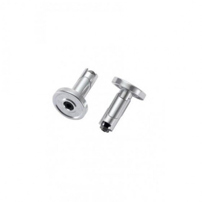 Blunt Alloy Scooter Bar Ends Silver