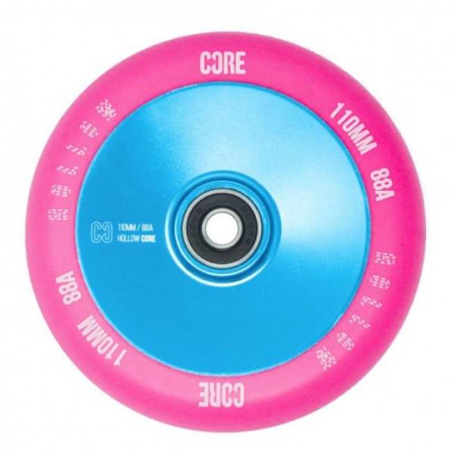 Core Hollow V2 Stunt Scooter Wheel Pink/Blue 110mm