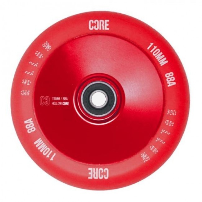 Core Hollow V2 Stunt Scooter Wheel Red 110mm