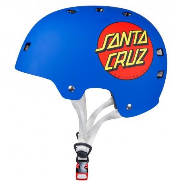 Bullet Santa Cruz Classic Dot Helmet Blue