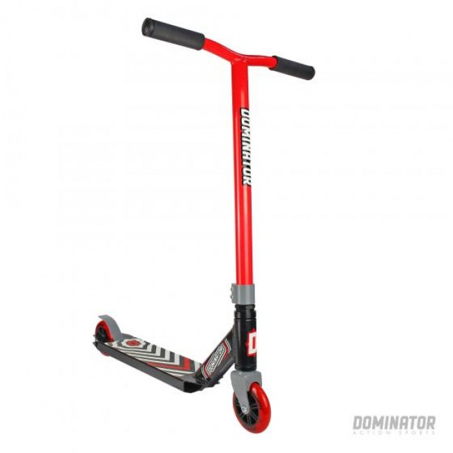 Dominator Scout Complete Scooter Black Red