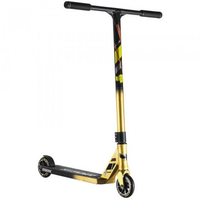 Dominator Team Edition Complete Stunt Scooter Gold Black