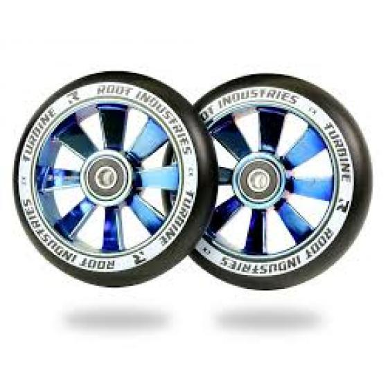 Root Industries Turbine Scooter Wheels Blu Ray 110mm