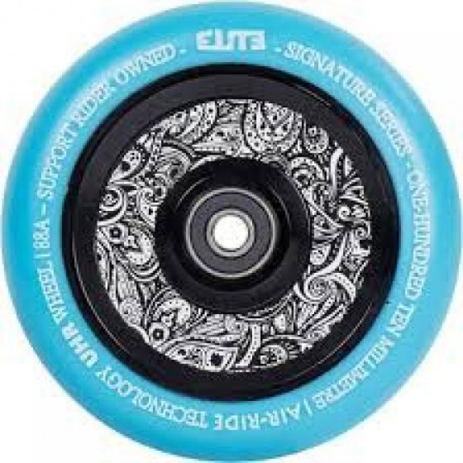 Elite Floral Air Ride Wheels 110mm Blue/Floral