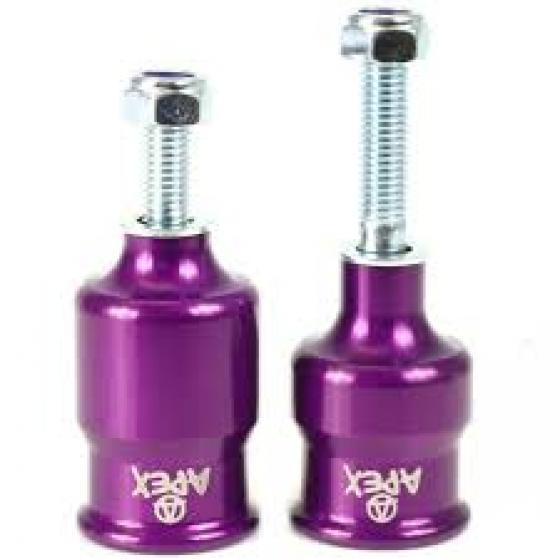 Apex Coopegs Scooter Pegs Purple