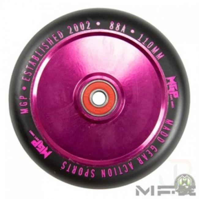 MGP MFX Corrupt Scooter Wheels 110mm Pink/Black PAIR