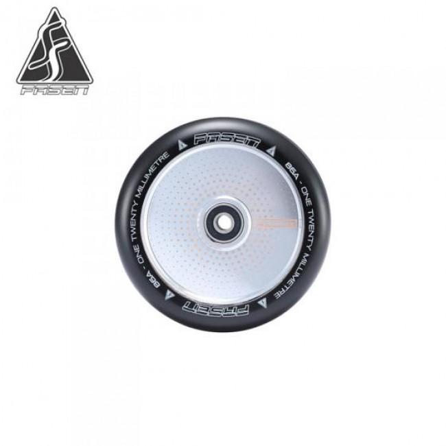 Fasen Hypno Dot Chrome Scooter Wheel 120mm