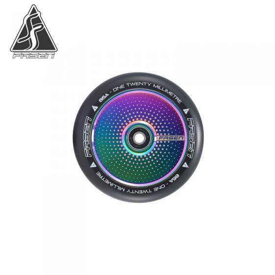 Fasen Hypno Dot Oil Slick Scooter Wheel 120mm