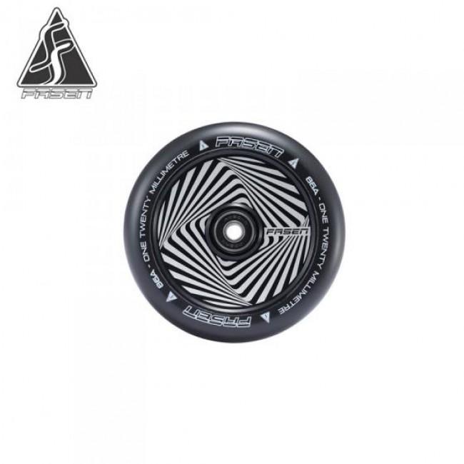 Fasen Hypno Squared Black Scooter Wheel 120mm