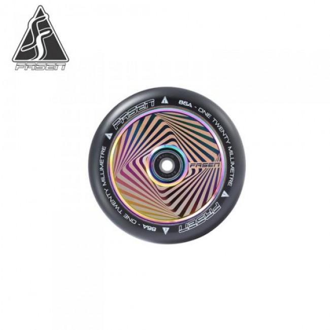 Fasen Hypno Squared Oil Slick Scooter Wheel 120mm