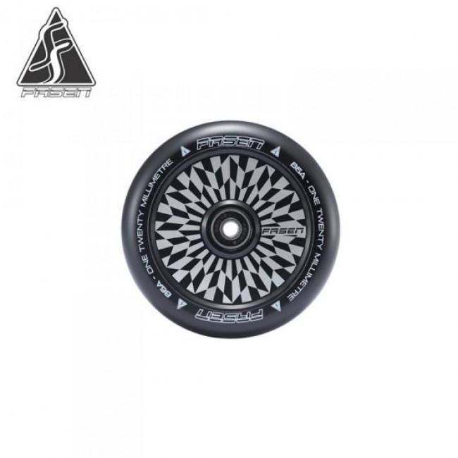 Fasen Hypno Offset Black Scooter Wheel 120mm