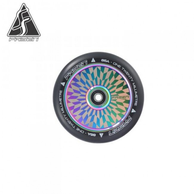 Fasen Hypno Offset Oil Slick Scooter Wheel 120mm