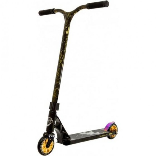 Grit Fluxx Stunt Scooter Vapour Black/Laser Gold