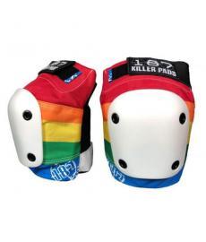 187 Killer Slim Knee Pads Rainbow Extra Large