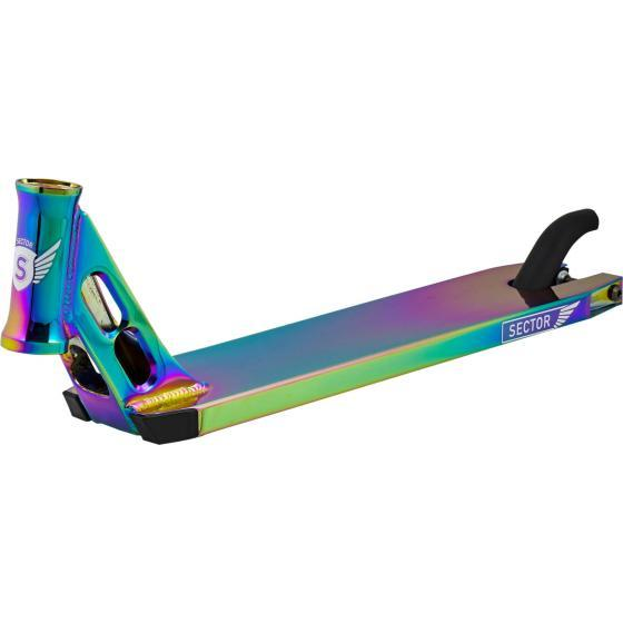 Longway Sector Pro Scooter Deck Neo Chrome 520mm