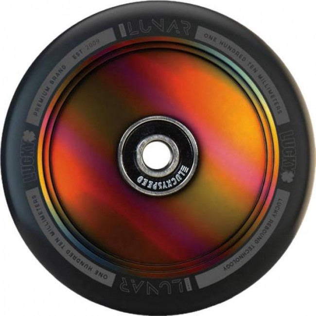 Lucky Lunar Neo Chrome Hollowcore Scooter Wheel
