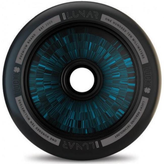 Lucky Lunar Black/Blue Hollowcore Scooter Wheel 110mm