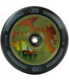 Lucky Tanner Fox Scooter Wheel Green 110mm