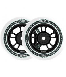 North Wagon Pro Scooter Wheels Matte Black 2 Pack 110mm