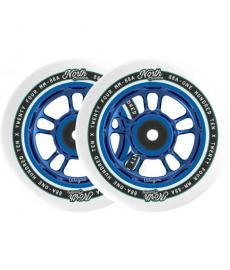 North Wagon Pro Scooter Wheels Blue 2 Pack 110mm