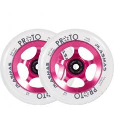 Proto Plasma Scooter Wheels Hot Pink 2 Pack