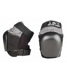 187 Killer Pro Derby Knee Pads Grey/Black Extra Large