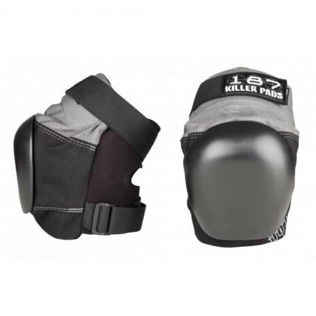 187 Killer Pro Derby Knee Pads Grey/Black