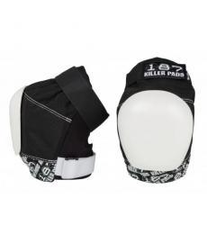 187 Killer Pro Knee Pads Black/White Extra Large