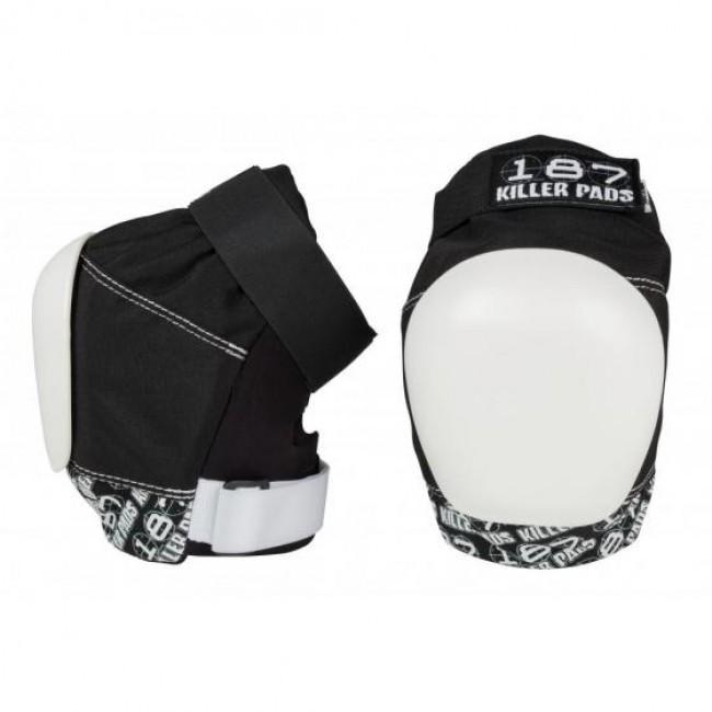 187 Killer Pro Knee Pads Black/White
