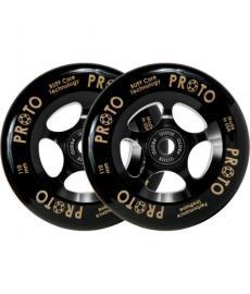 Proto Gripper Pro Scooter Wheels 110mm Black/Black