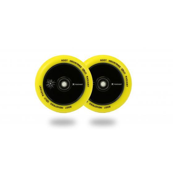 Root Industries Air Radiant Scooter Wheels Yellow 110mm