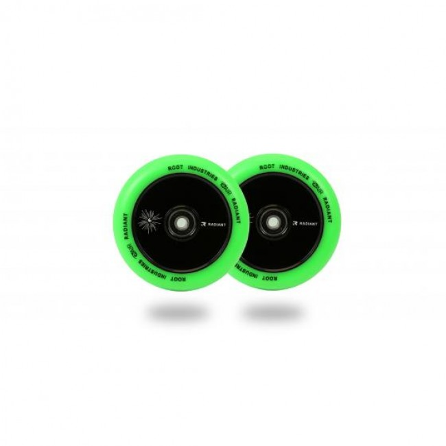 Root Industries Air Radiant Scooter Wheels Green 110mm