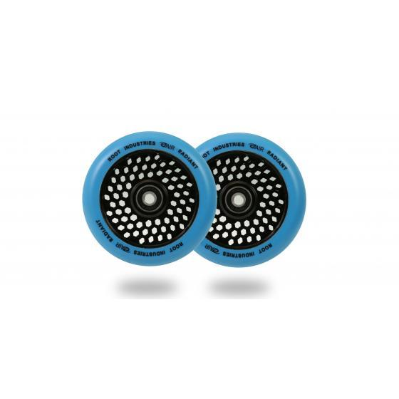 Root Industries Honeycore Radiant Scooter Wheels Blue 110mm