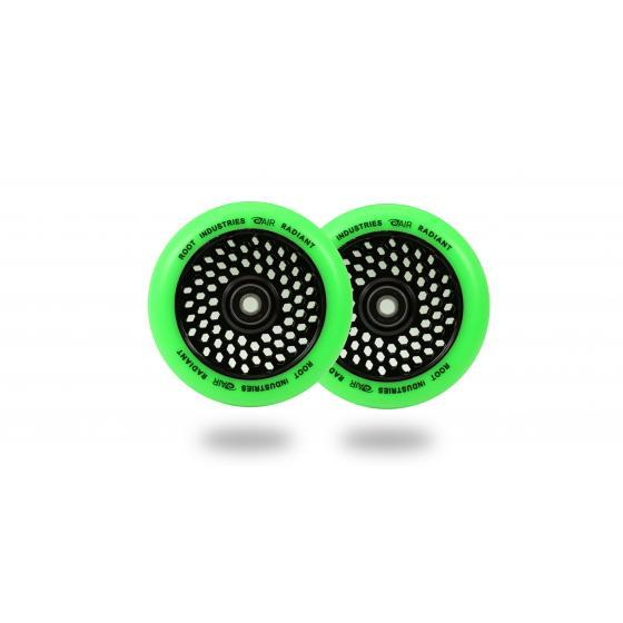 Root Industries Honeycore Radiant Scooter Wheels Green 110mm