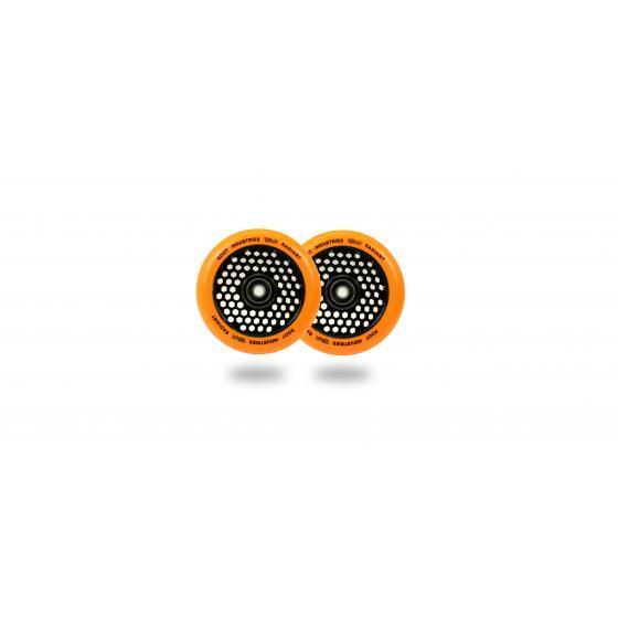 Root Industries Honeycore Radiant Scooter Wheels Orange 110mm