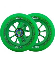River Glide Emerald Scooter Wheels 2 Pack